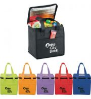 CUBE NON-WOVEN LUNCH COOLER  |  ITEM SM-7189